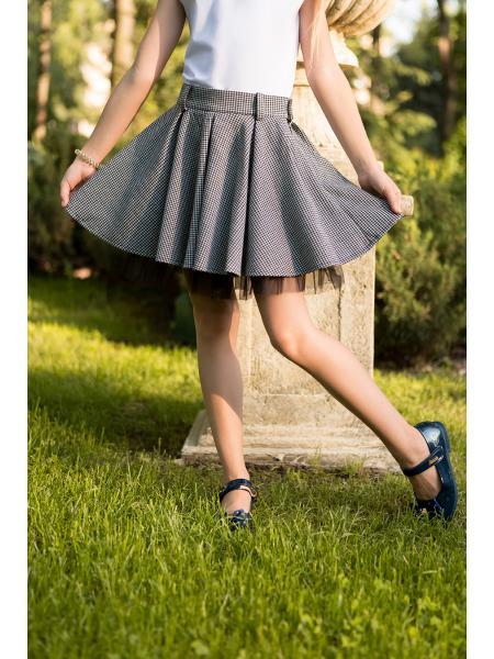 школьная юбка для девочки «kr-7» изображение