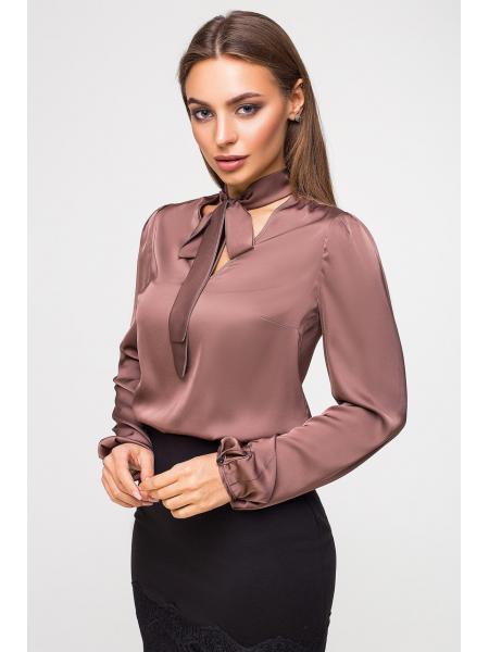 Блуза Бант Шёлк опт цена от производителя