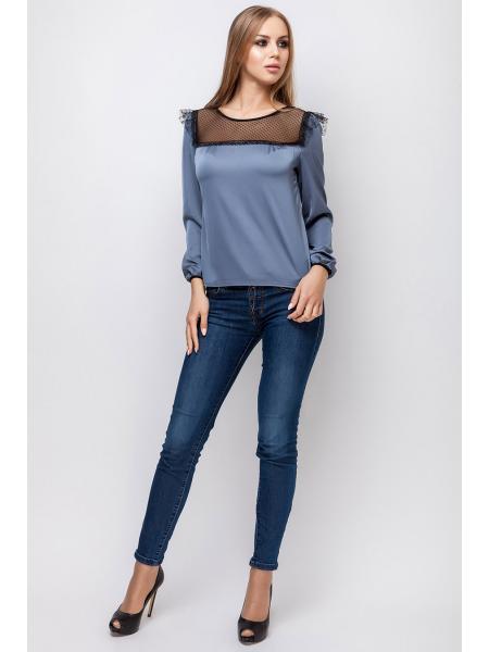 Блузка шелковая Хиллари изображение