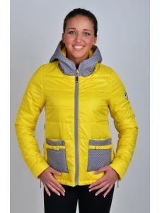 куртка демисезонная женская парка «бантик»