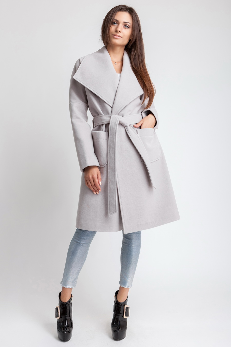 ea1e43a1928 Пальто Осеннее Женское «Dop-2» ~ Купить Оптом От (5+)