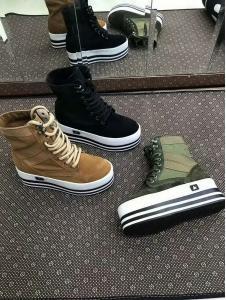 ботинки демисезонные женские «fr-11»