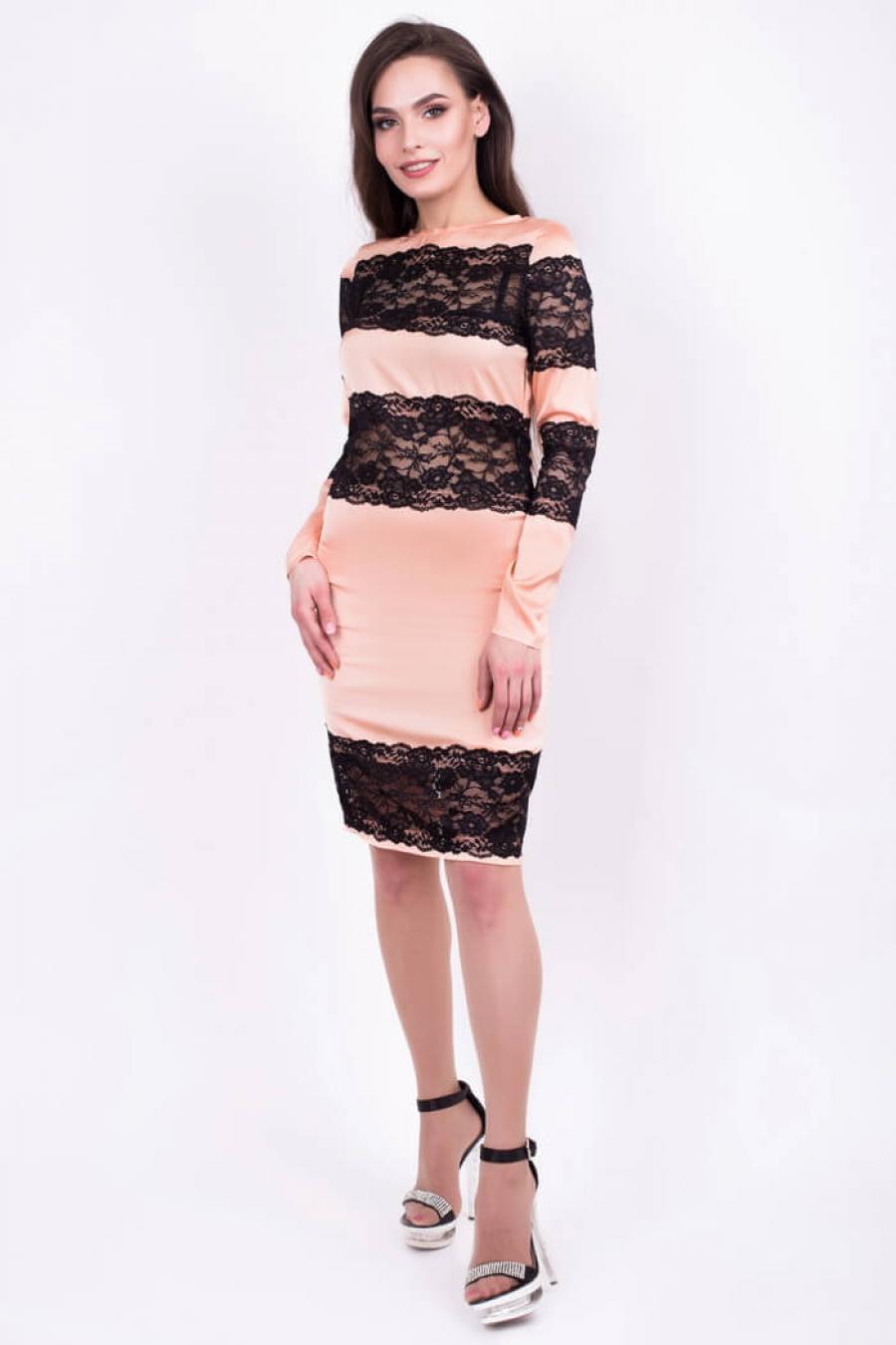 Женское гламурное платье «do-13»