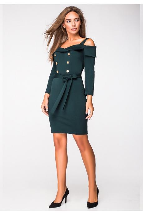 Женское платье «пуговицы»