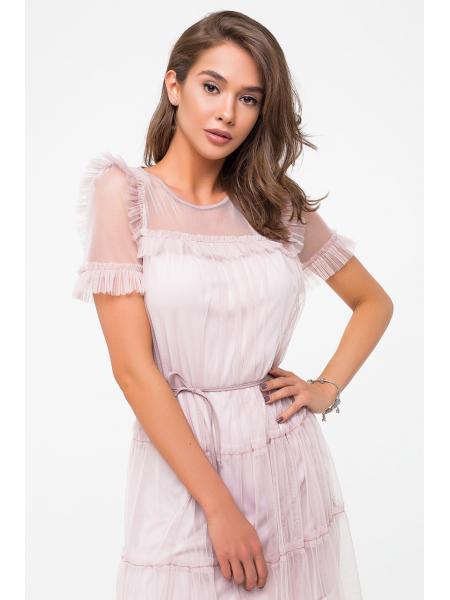 Женское Платье «Сетка» изображение