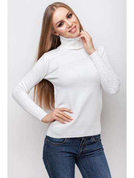 свитер ангоровый «узоры» изображение