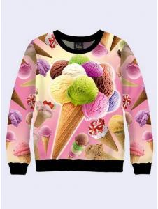 Взрослый свитшот Ice Cream