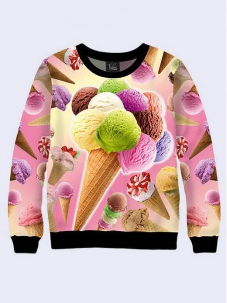 """Свитшот для взрослых """"Ice Cream"""""""