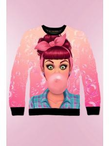 Детский свитшот для девочки Bubblegum