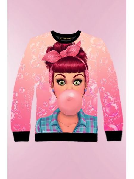 Женский свитшот Bubblegum изображение