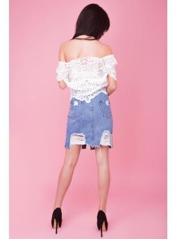 Фото юбка джинсовая «do-60»