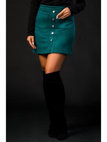 юбка «эко замш» изображение