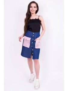 юбка из джинса «do-26»