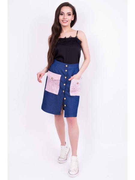 юбка из джинса «do-26» изображение